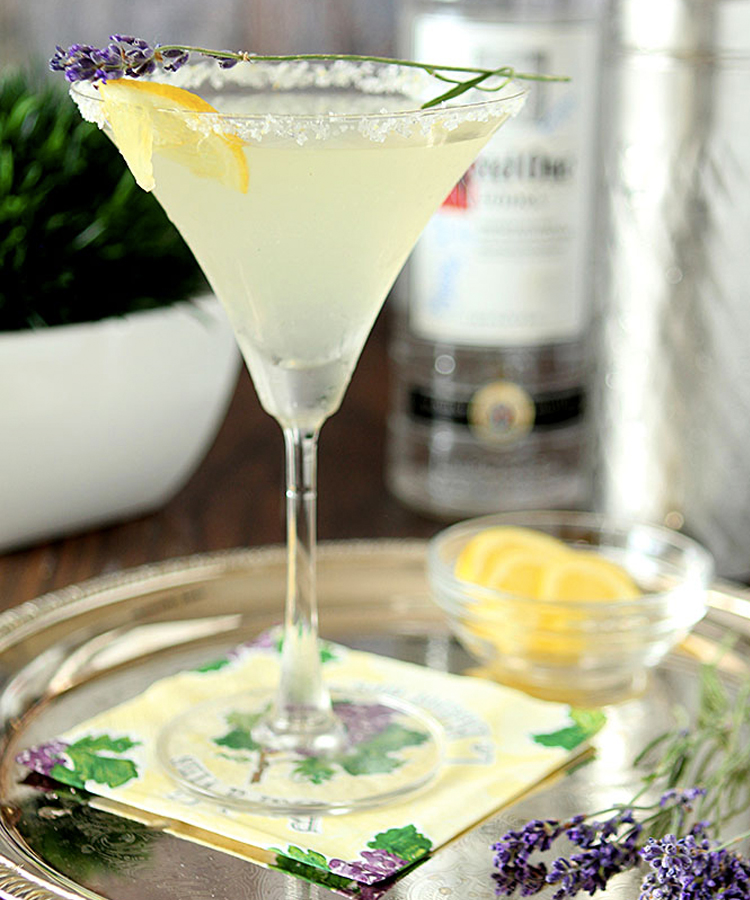 This Lavender Lemonade Martini is a mouthwatering martini to make this summer