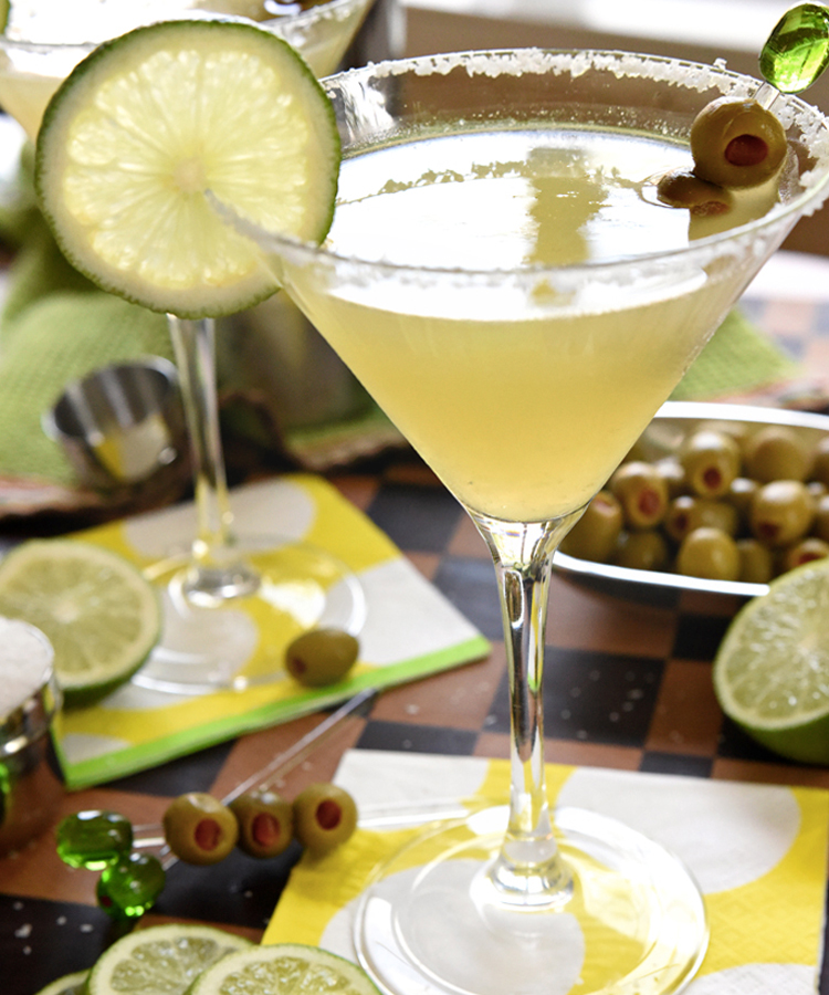 This Mexican Martini is a mouthwatering martini recipe to make this summer