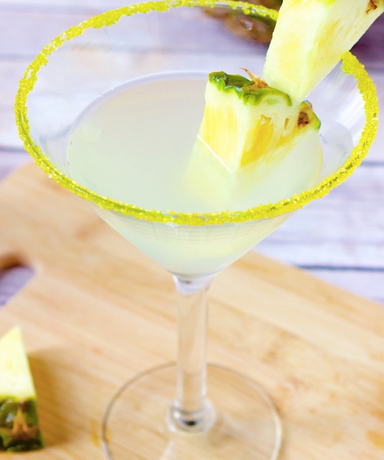 This Pineapple Martini is a mouthwatering martini recipe to make this summer