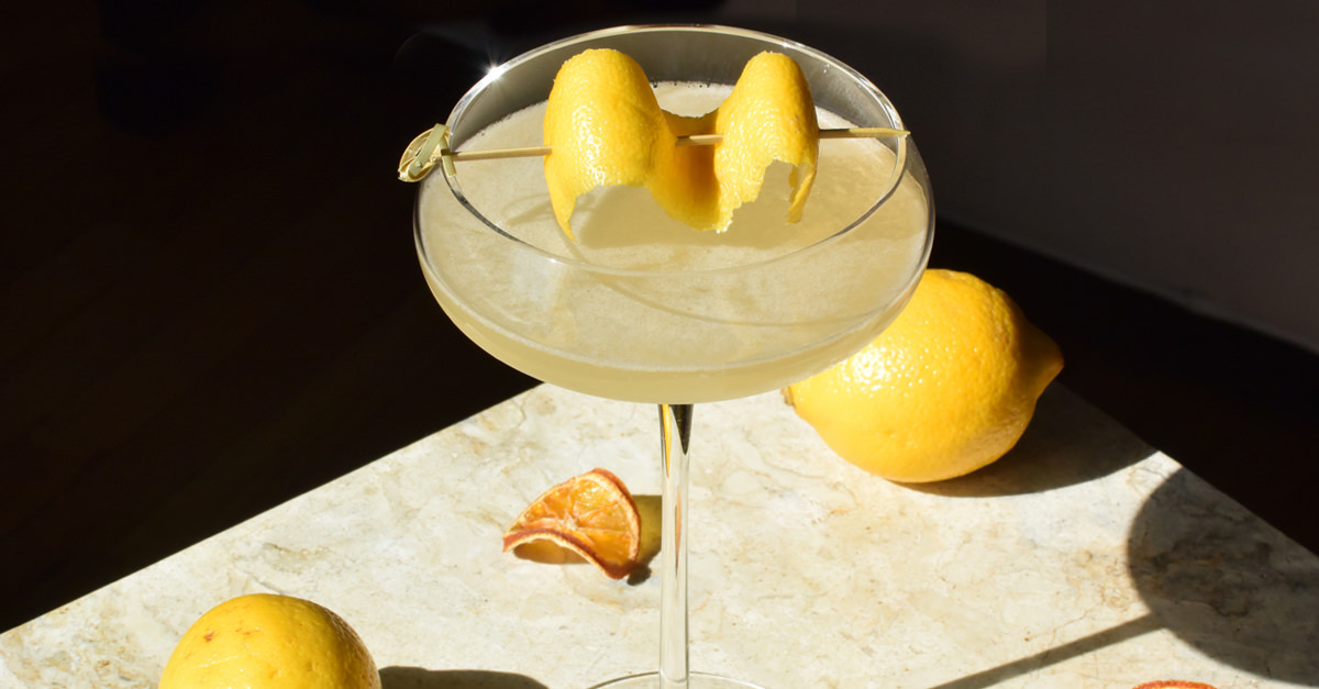 It's easy to hate on the vodka Martini. The progression of ordering one follows a general descent from optimism (James Bond drinks these, why not?) to despair (this is basically just cold vodka). But there are a few simple adjustments to take the vodka Martini from gross to Duke Ellington-level smooth, sultry, and savvy. Meet your upgraded vodka cocktail - The Duke Lemington.