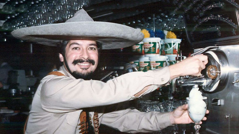 Mariano Martinez invented the Frozen Margarita machine