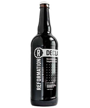 reformation declaration is one of the best beers of 2017
