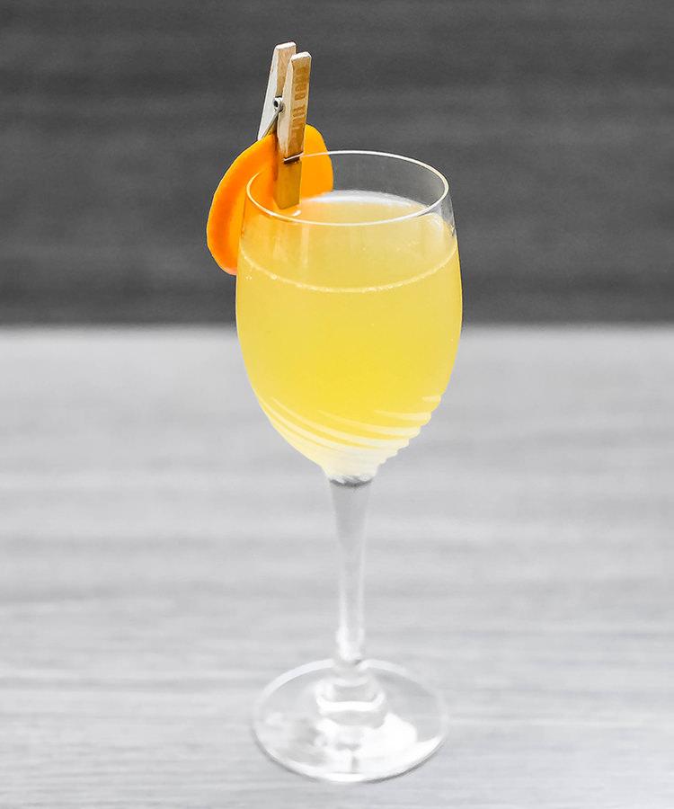 The Barrel-Aged Mandarin 75 Recipe