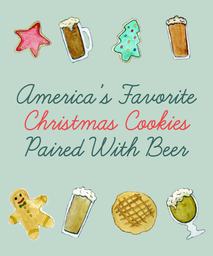 America's Favorite Christmas Cookies Paired with Beer [Infographic]