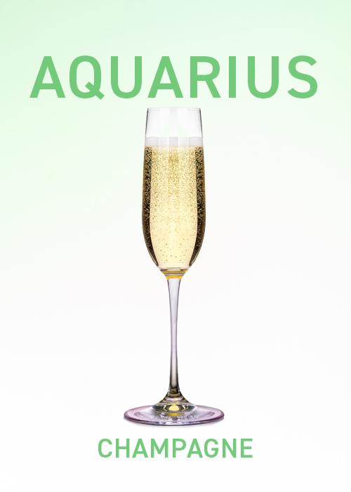 Champagne is among VinePair's drinks pairing for April horoscopes.