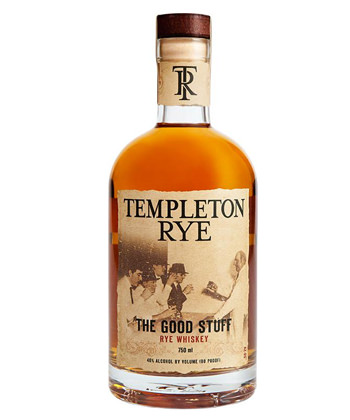 templeton is one of the best whiskies for a Boulevardier