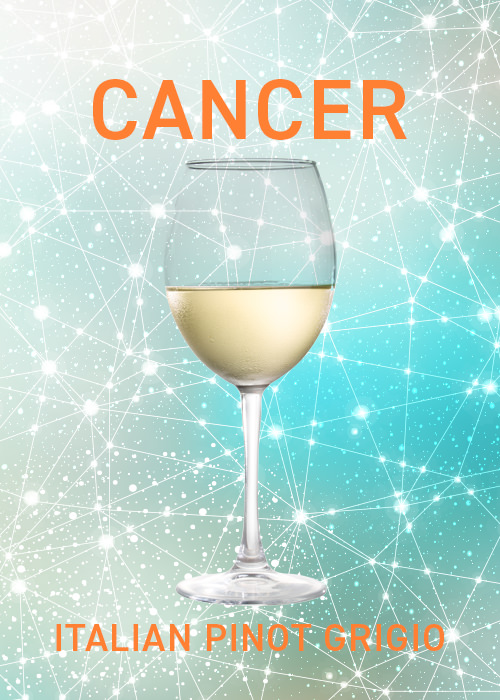 Pinot Grigio is ideal for Cancers in May, according to VinePair's drink pairing horoscope.