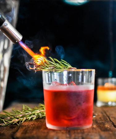 The Rosemary-Smoked Negroni Recipe