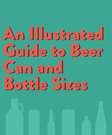 An Illustrated Guide to Beer Can and Bottle Sizes (Infographic)