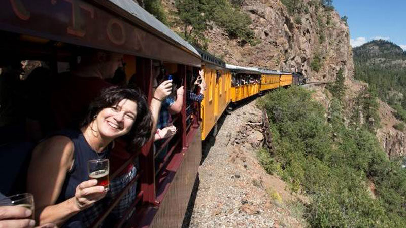 The Durango Brew Train is one of the best beer trains in America