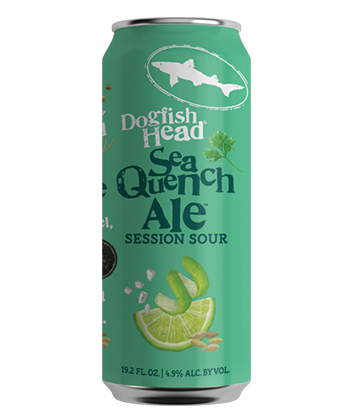 Dogfish Head SeaQuench Ale 19.2 oz stovepipe can