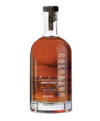 Breckenridge Blend of Straight Bourbon is one of the Best Bourbons for 2019