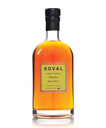 Koval Single Barrel Bourbon is one of the Best Bourbons for 2019