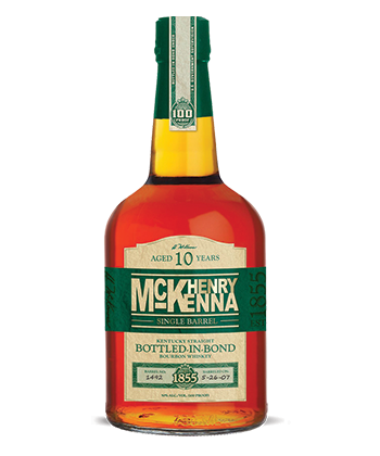 Henry McKenna Single Barrel 10-Year-Old is one of the Best Bourbons for 2019