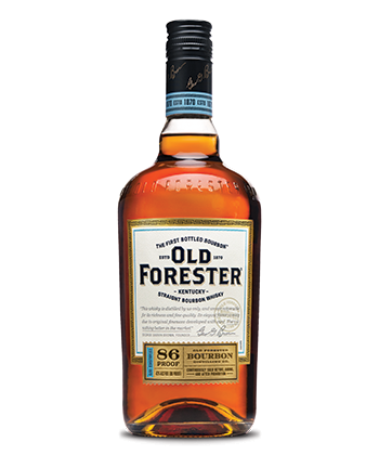 Old Forester 86 Proof Kentucky Straight Bourbon is one of the Best Bourbons for 2019