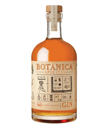 Falcon Spirits Botanica Spirtvs Barrel Finished Gin is one of the best barrel-aged gins