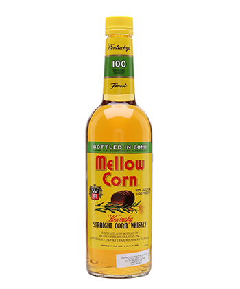 Mellow Corn is one of the best bottled in bond bourbons according to bartenders
