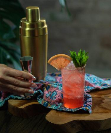 The Hibiscus Citrus Tea Cocktail