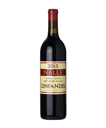 Nalle Winery Old Vine Zinfandel is one of the 50 best wines of 2019.