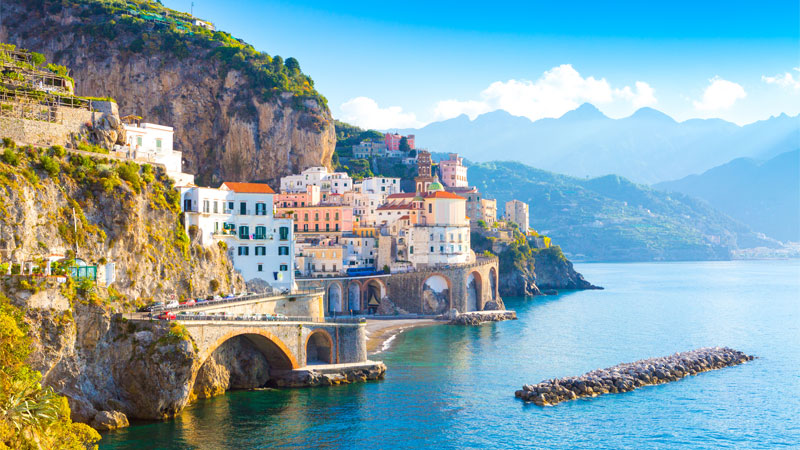 Campania is one of the top 10 wine travel destinations for 2020.