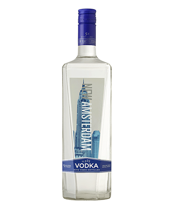 New Amsterdam is one of the best vodkas under $20