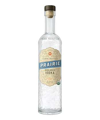 Prairie Organic is one of the best vodkas under $20