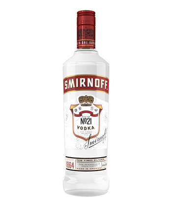 Smirnoff is one of the best vodkas under $20