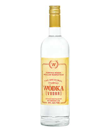Wódka is one of the best vodkas under $20