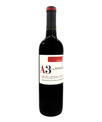 A3 California Red Blend is one of the most popular red blends in America
