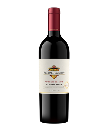 Kendall Jackson Napa Valley Vintner's Reserve Red Wine Blend is one of the most popular red blends in America