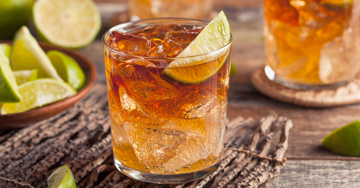 Image result for images of Dark Mojito with Dark Rum and Sprite