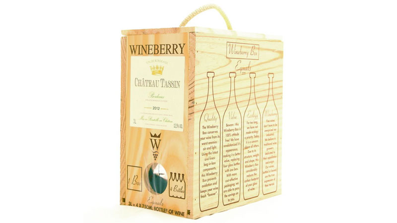 Wineberry Château Tassin Bordeaux Blanc is one of the best boxed wines of 2020