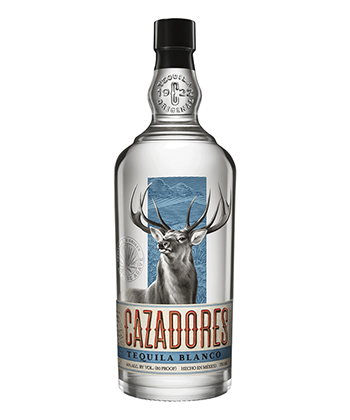 Cazadores Blanco is one of the best cheap tequilas under $25.