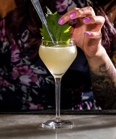 The Shiso Rona Cocktail