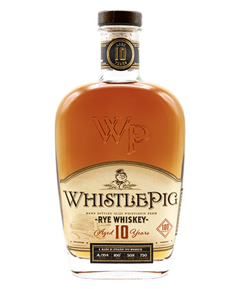 WhistlePig is one of the 20 Best Rye Whiskey Brands of 2020
