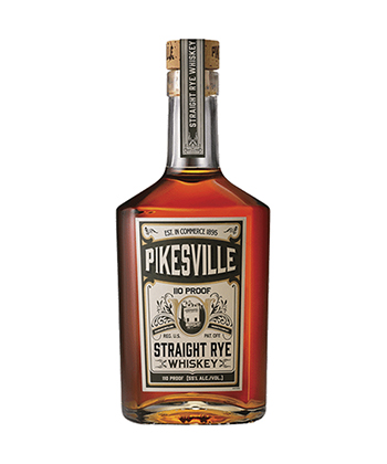 Pikesville is one of the 20 Best Rye Whiskey Brands of 2020