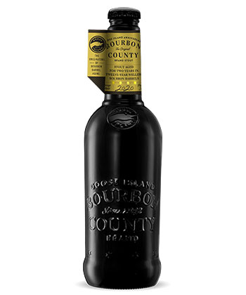 Anniversary Bourbon County Stout is one of the Goose Island Bourbon County Stout variants for 2020