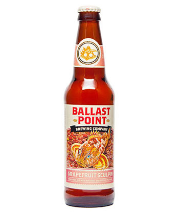 Ballast Point Grapefruit Sculpin is one of the top 25 most important American beers of all time