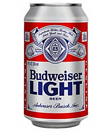 Bud Light is one of the top 25 most important American beers of all time