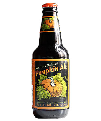 Buffalo Bill Pumpkin Ale is one of the top 25 most important American beers of all time