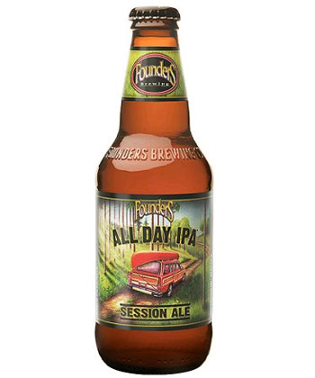 Founder's All Day IPA is one of the top 25 most important American beers of all time