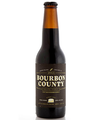 Goose Island Bourbon County Stout is one of the top 25 most important American beers of all time