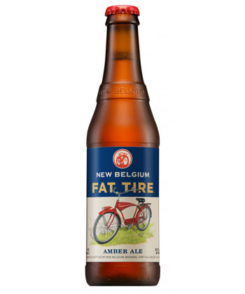 New Belgium Fat Tire is one of the top 25 most important American beers of all time