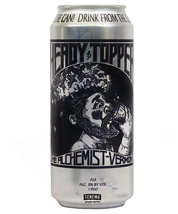 The Alchemist Heady Topper is one of the top 25 most important American beers of all time