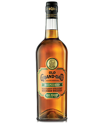 Old Grand-Dad is one of the best bottled in bond bourbons according to bartenders