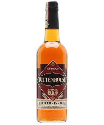 Rittenhouse Rye competes with the best bottled in bond bourbons according to bartenders