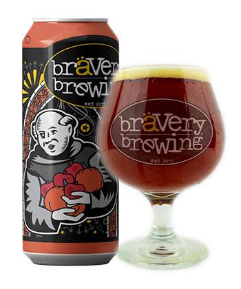 Bravery Brewing Pumpkin-Apple Pie is one of the best pumpkin beers according to brewers