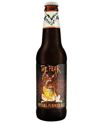 Flying Dog The Fear is one of the best pumpkin beers according to brewers