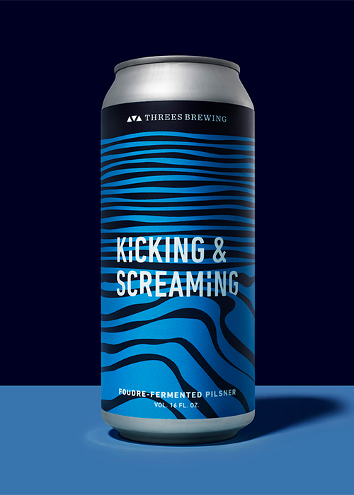 Threes Brewing Threes Kicking and Screaming Oak Aged Pilsner