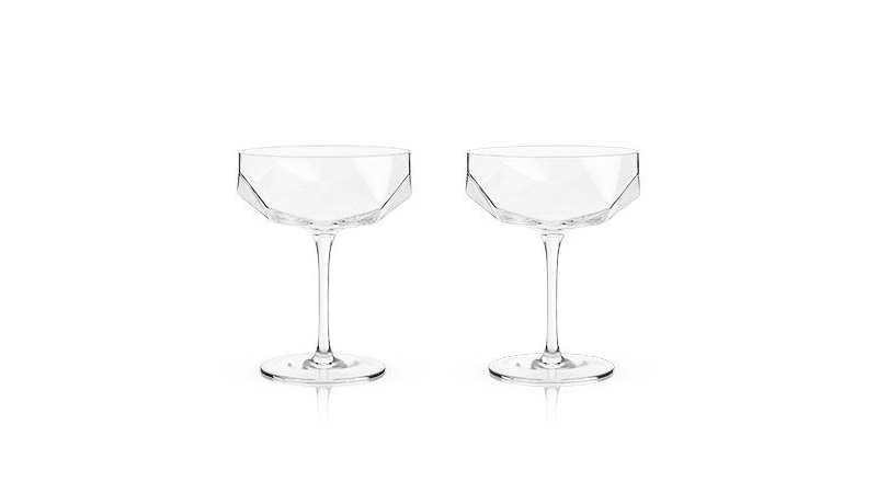 Best Faceted Coupe Glasses